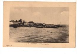 C P A--AFRIQUE      DAHOMEY--petit Port Lagunaire--voir 2 Scans - Dahomey