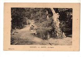 C P A--AFRIQUE   DAHOMEY--SAKETE--la Lagune--voir 2 Scans - Dahomey