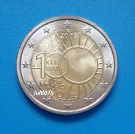 2 Euro Commemorative Belgique 2013 100ans De L'Institut Météorologique PIECE NEUVE UNC - Belgium