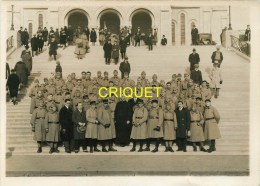 Nantes Militaria, Photo De Militaires Du 65ème à La Journée Militaire Au Sacré Coeur De Montmartre, 1930 - Nantes