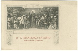 """Istituto Missioni Estere Di Milano - """" 10. S. Francesco Saverio - Patrono Delle Missioni."""" - Jésus"""