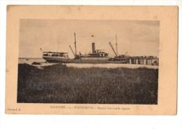 C P A--AFRIQUE    DAHOMEY-PORTO NOVO--branch Boat Sur La Lagune--voir 2 Scans - Dahomey