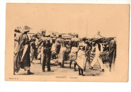 C P A-AFRIQUE   DAHOMEY--TAM-TAM--voir 2 Scans - Dahomey
