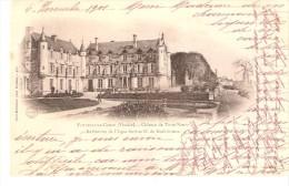 Fontenay-le-Comte (Vendée)-1901-Château De Terre Neuve-Précurseur-Oblitération Sur Type Mouchon II YT 116 (voir Scan) - Fontenay Le Comte