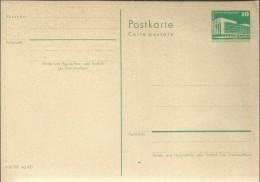ALEMANIA DDR ENTERO POSTAL - [6] República Democrática