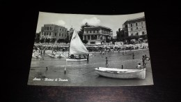 C-18345 CARTOLINA ANZIO - RIVIERA DI PONENTE - PANORAMA DELLA SPIAGGIA HOTEL ALBERGHI BARCHE - Roma