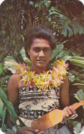 Océanie - Fiji - A Fijian Lass - Figi