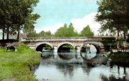 CPM  BRULON   Le Pont Sur La Vègre - Brulon