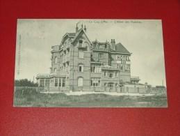 """DE HAAN - LE COQ SUR MER -     """" Hotel Des Familles """"  -  1910  -  (2 Scans) - De Haan"""