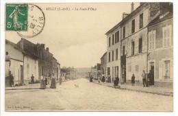 91 - MILLY (S.-et-O.) - La Route D'Oncy - éd. Vve E. Darlot N° 6 - Milly La Foret