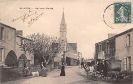 ¤¤  -   PORNIC  -  SAINTE-MARIE-sur-MER   -  Attelage , L'Eglise    -  ¤¤ - Pornic