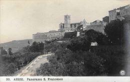 [DC5842] CARTOLINA - ASSISI - PANORAMA SAN FRANCESCO - Non Viaggiata - Old Postcard - Italy