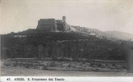 [DC5843] CARTOLINA - ASSISI - SAN FRANCESCO DAL TESCIO - Non Viaggiata - Old Postcard - Italy