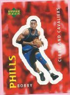 Sticker - UPPER DECK, 1997. - Basket / Basketball, No 221 - Bobby Phills, Cleveland Cavaliers - Basketbal - NBA