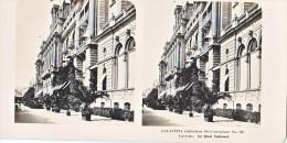 PS1 Photo Collection Stéréoscopique Galactina -N° 22 Lucerne Suisse- Le Quai National -lait Alpes Suisses -NPG 1906 - Photos Stéréoscopiques
