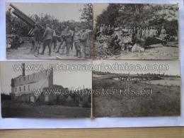 Treviso 35 Foto 24 7 1918 Con Testo 4x Aereo Abbattuto Piave - Treviso