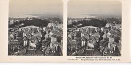 PS4 Photo Collection Stéréoscopique Galactina -N° 42 Lausanne Vue Cathedrale Lac  -lait Alpes Suisses -NPG 1906 - Photos Stéréoscopiques