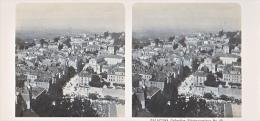 PS6 Photo Collection Stéréoscopique Galactina -N° 40 Lausanne Vue Generale Cathedrale -lait Alpes Suisses -NPG 1906 - Photos Stéréoscopiques
