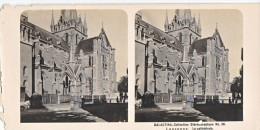 PS7 Photo Collection Stéréoscopique Galactina -N° 38 Lausanne Cathedrale -lait Alpes Suisses -NPG 1906 ! Etat! - Photos Stéréoscopiques