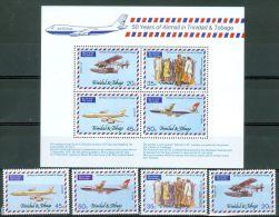 Trinidad & Tobago 1977 Airmail MNH** - Lot. A351 - Trinité & Tobago (1962-...)