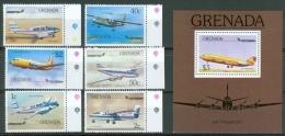 Grenada 1976 Airplane MNH** - Lot. A351 - Grenade (1974-...)