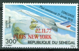 Senegal 1977 Concorde MNH** - Lot. 3268 - Sénégal (1960-...)