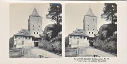 PS11 Photo Collection Stéréoscopique Galactina -N°48 Fribourg Porte Bourguillon -lait Alpes Suisses -NPG 1906 - Photos Stéréoscopiques