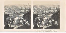 PS14 Photo Collection Stéréoscopique Galactina -N°44 Fribourg Ville Basse Pont Gotteron -lait Alpes Suisses -NPG 1906 - Photos Stéréoscopiques