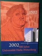 Cartolina -( 1502 - 2002) - 500 Anni  D'Università  Halle-Wittenberg. - Inaugurazioni