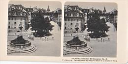 PS16 Photo Collection Stéréoscopique Galactina -N°46 Fribourg Hotel Ville Tilleul Morat -lait Alpes Suisses -NPG 1906 - Photos Stéréoscopiques