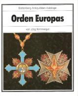 ORDEN EUROPAS ORDRE EUROPE MEDAILLE DECORATION GUIDE COLLECTION PHALERISTIQUE - Médailles & Décorations