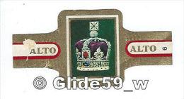 Bague De Cigare ALTO - Serie Corona - N° 6 - Couronne Impériale - Empire Britannique (2) - Bagues De Cigares