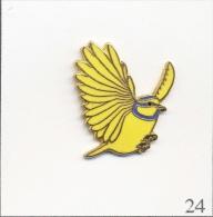 Pin´s - Animaux - Oiseau / Mésange En Vol. Non Est. EGF. T243-24 - Animals