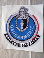 RARE AUTOCOLLANT GENDARMERIE NATIONALE LA BRIGADE MOTORISEE ETAT EXCELLENT - Police & Gendarmerie