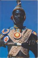 Afrique,africain,zambie,z Ambia,MBUZA   DANCER ,eastern Province,rare,cagoule,ten Ue  Classe,rare - Zambie