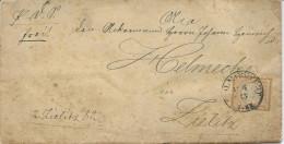 LETTRE DE 1873 AVEC UN TIMBRE A 1/2 GROSCHEN - Deutschland