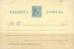G)1898 PUERTO RICO, POSTAL STATIONARY 2 CT. DE PESO, UNUSED, XF - Unused Stamps