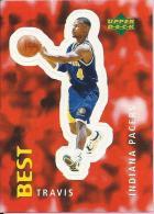 Sticker - UPPER DECK, 1997. - Basket / Basketball, No 240 - Travis Best, Indiana Pacers - Basketbal - NBA