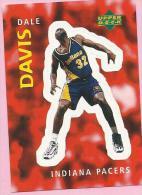 Sticker - UPPER DECK, 1997. - Basket / Basketball, No 242 - Dale Davis, Indiana Pacers - Basketbal - NBA