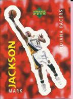 Sticker - UPPER DECK, 1997. - Basket / Basketball, No 243 - Mark Jackson, Indiana Pacers - Basketbal - NBA