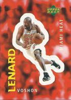 Sticker - UPPER DECK, 1997. - Basket / Basketball, No 245 - Voshon Lenard, Miami Heat - Basketbal - NBA