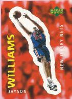 Sticker - UPPER DECK, 1997. - Basket / Basketball, No 268 - Jayson Williams, New Jersey Nets - Basketbal - NBA