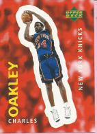 Sticker - UPPER DECK, 1997. - Basket / Basketball, No 287 - Charles Oakley, New York Knicks - Basketbal - NBA