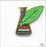 Pin´s - Entreprise - Seita / Section Recherche Sur Le Tabac. Est. M De B. Zamac. T245-03 - Alimentation