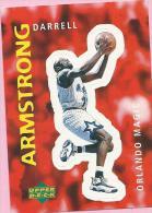Sticker - UPPER DECK, 1997. - Basket / Basketball, No 290 - Darrell Armstrong, Orlando Magic - Basketball - NBA