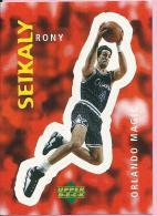 Sticker - UPPER DECK, 1997. - Basket / Basketball, No 291 - Rony Seikaly, Orlando Magic - Basketball - NBA