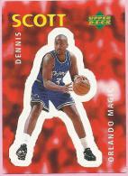Sticker - UPPER DECK, 1997. - Basket / Basketball, No 292 - Dennis Scott, Orlando Magic - Basketball - NBA