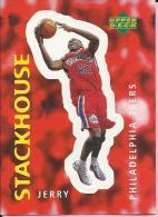 Sticker - UPPER DECK, 1997. - Basket / Basketball, No 306 - Jerry Stackhouse, Philadelphia 76ers - Basketball - NBA