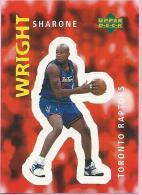 Sticker - UPPER DECK, 1997. - Basket / Basketball, No 311 - Sharone Wright, Toronto Raptors - Basketball - NBA
