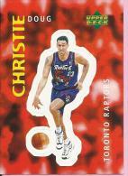 Sticker - UPPER DECK, 1997. - Basket / Basketball, No 312 - Doug Christie, Toronto Raptors - Basketball - NBA